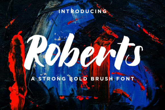 Print on Demand: Roberts Blackletter Font By Haksen