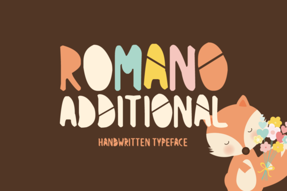 Romano Additional Display Font By Imposing Fonts