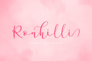 Ronhilli Font By Juncreative