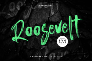 Print on Demand: Roosevelt Display Font By Maulana Creative