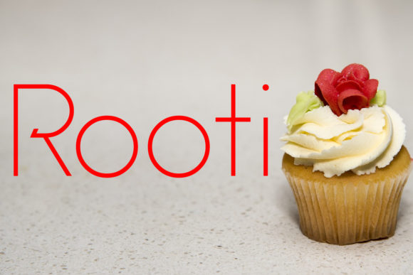 Print on Demand: Rooti Sans Serif Font By da_only_aan
