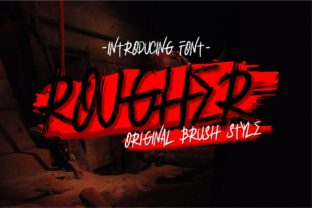 Rougher Font By putracetol