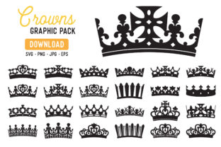 Royal Crown Clipart Pack Graphic By The Gradient Fox