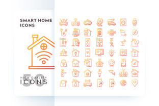 SMART HOME ICON Graphic By Goodware.Std