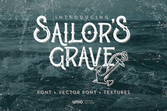 Print on Demand: Sailor's Grave Serif Font By unio.creativesolutions
