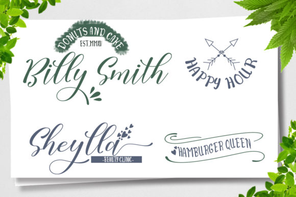 Print on Demand: Sally Butter Script & Handwritten Font By Natural Ink - Image 2