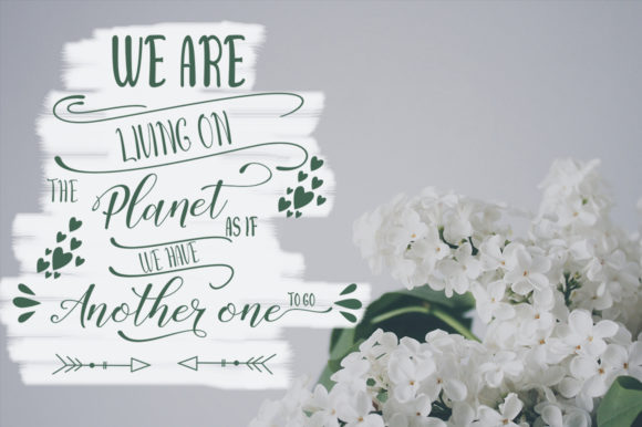 Sally Butter Font By Natural Ink Image 5