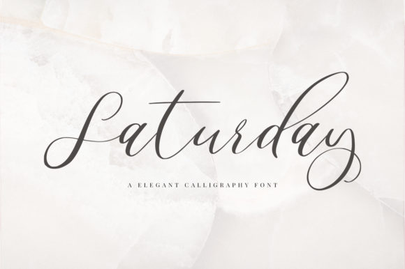 Print on Demand: Saturday Script & Handwritten Font By paulhewittype