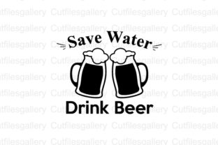 Download Free Save Water Drink Beer Svg Graphic By Cutfilesgallery Creative for Cricut Explore, Silhouette and other cutting machines.