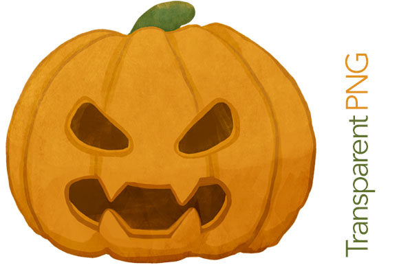 Download Free Scary Pumpkin Halloween Clipart Graphic By Milaski Creative for Cricut Explore, Silhouette and other cutting machines.