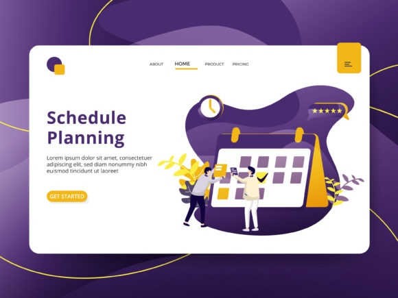Schedule Planning Graphic Illustrations By Twiri - Image 1