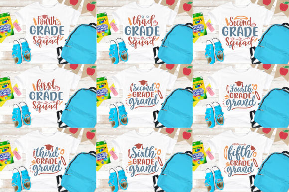 School SVG Mega Bundle Graphic Print Templates By Graphicsqueen - Image 9