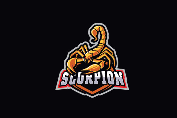 Download Free Scorpion E Sports Logo Graphic By Ovoz Graphics Creative Fabrica for Cricut Explore, Silhouette and other cutting machines.