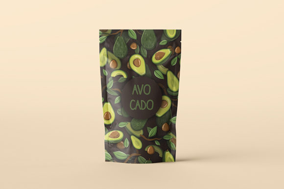 Download Free Seamless Avocado Pattern Graphic By Bayu Baluwarta Creative for Cricut Explore, Silhouette and other cutting machines.