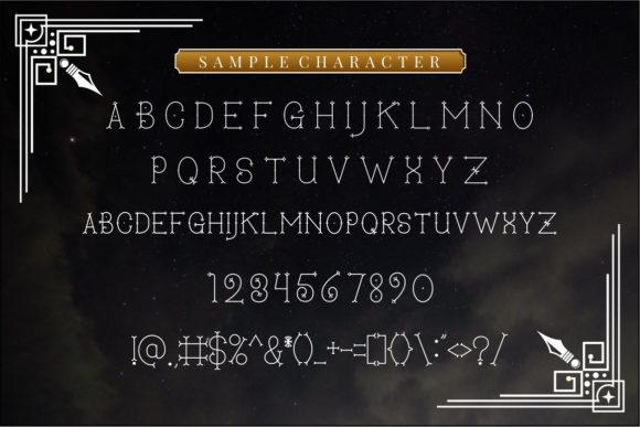 Print on Demand: Secret Darling Display Font By putracetol - Image 11