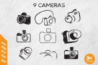 Set of Cameras Graphic By svgBank