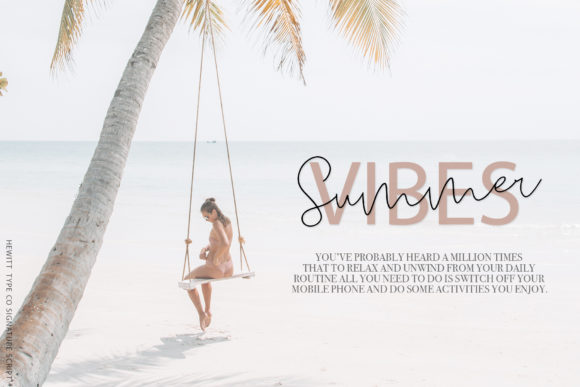 Print on Demand: Seville Script & Handwritten Font By paulhewittype - Image 2
