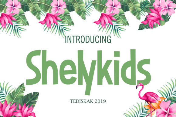 Print on Demand: Shelykids Sans Serif Font By hai hai