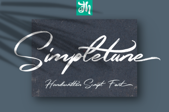Print on Demand: Simpletune Script & Handwritten Font By feydesign