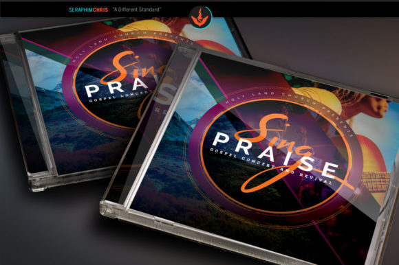 Sing Praise CD Artwork Template Graphic By seraphimchris