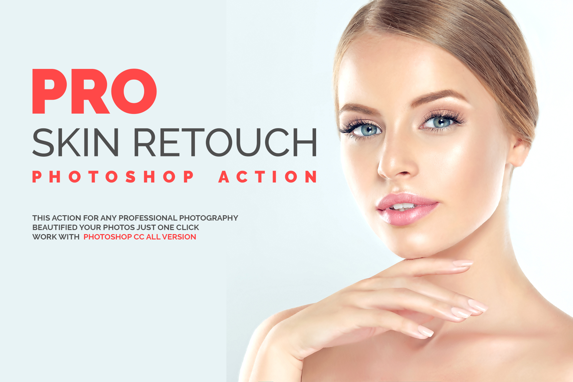Skin Retouch Photoshop Action