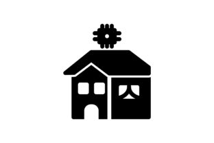 Download Free Smart Home Icon Grafico Por Ahlangraphic Creative Fabrica SVG Cut Files