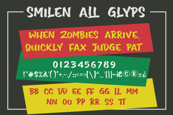 Print on Demand: Smilen Display Font By Subectype - Image 11