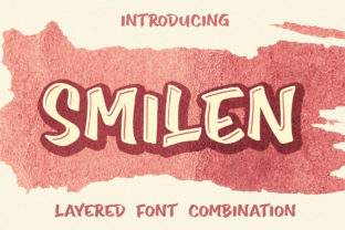 Print on Demand: Smilen Display Font By Subectype