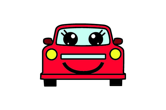 Download Free Smiling Car Svg Cut File By Creative Fabrica Crafts Creative for Cricut Explore, Silhouette and other cutting machines.