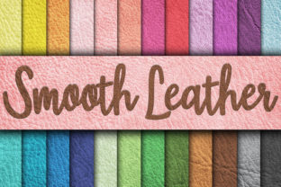 Download Free Smooth Leather Textures Digital Paper Graphic By for Cricut Explore, Silhouette and other cutting machines.