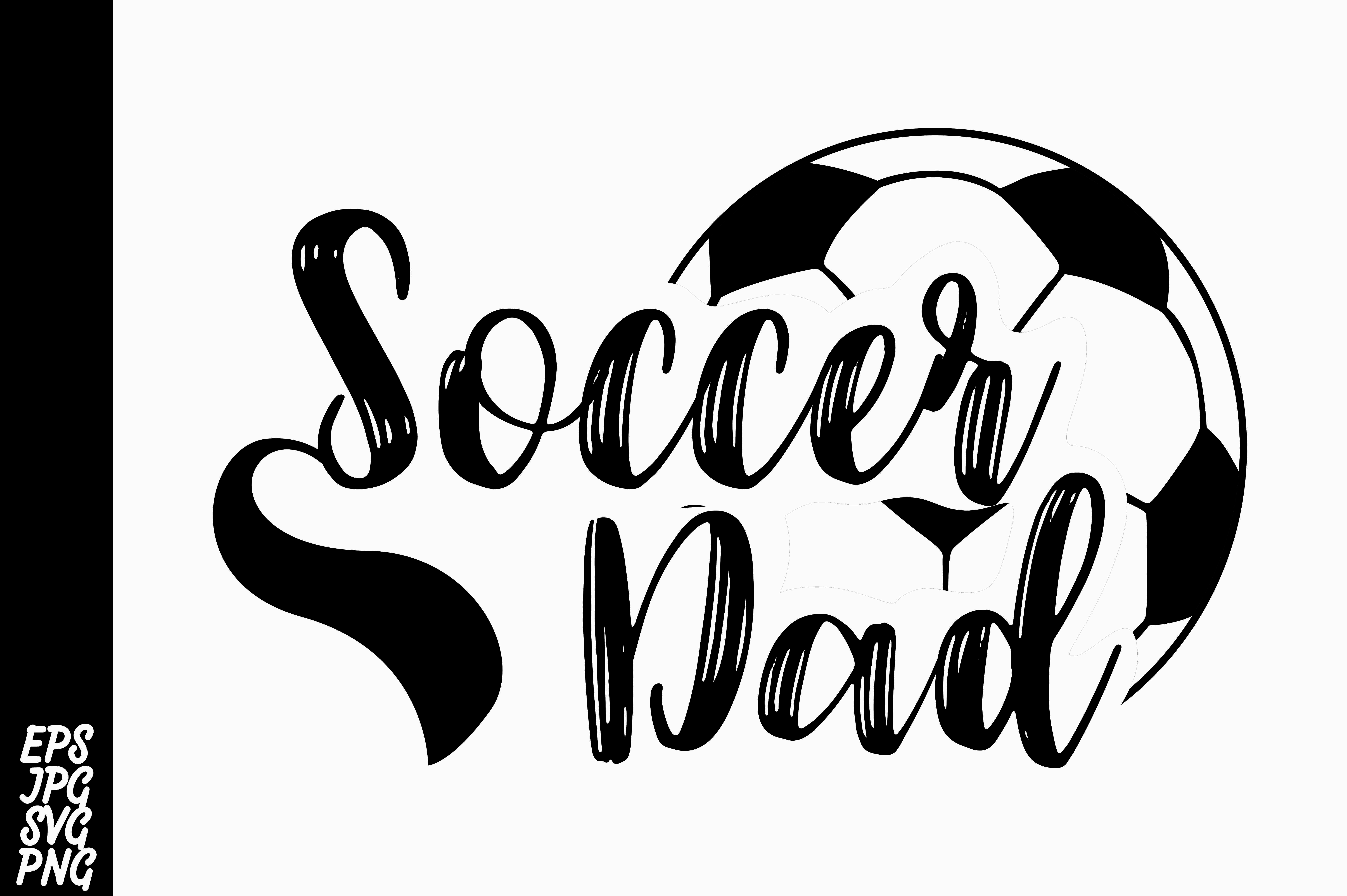 Download Free Soccer Dad Graphic By Arsa Adjie Creative Fabrica for Cricut Explore, Silhouette and other cutting machines.