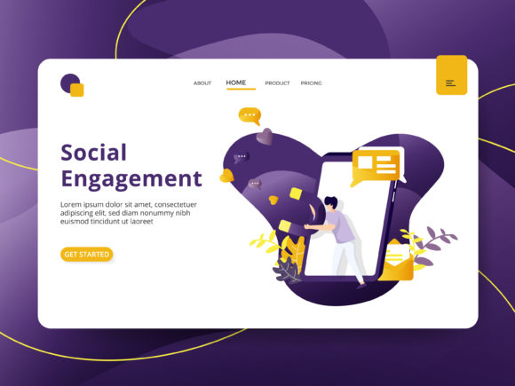 Social Engagement Graphic Illustrations By Twiri