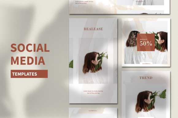 Print on Demand: Social Media Template Graphic Graphic Templates By ovoz.graphics