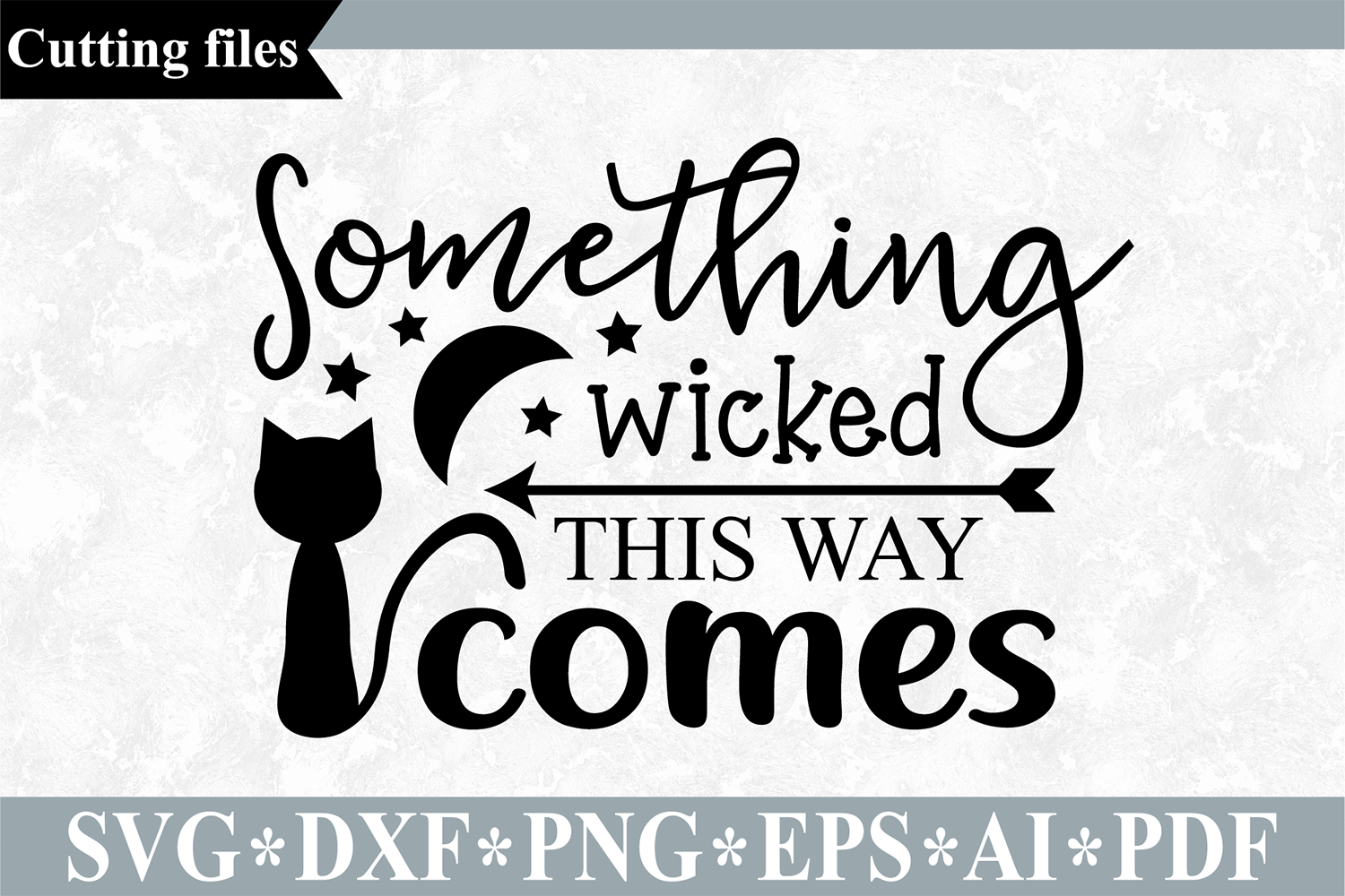 Download Free Something Wicked This Way Comes Svg Graphic By Vr Digital Design for Cricut Explore, Silhouette and other cutting machines.