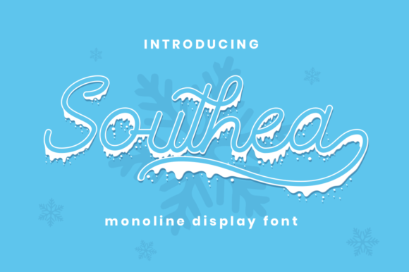 Print on Demand: Southea Display Font By attypestudio