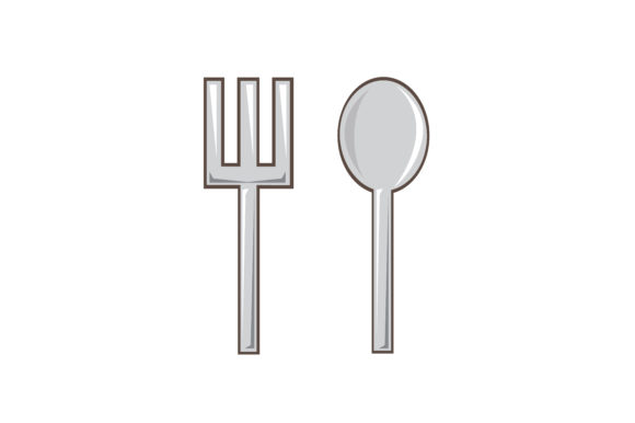 Spoon N Fork Graphic Illustrations By akaisredinjapan