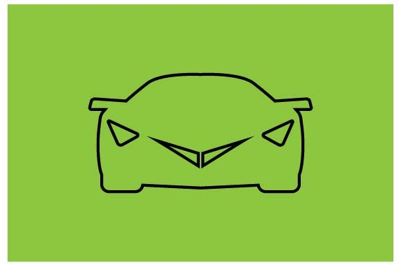 Download Free Sport Car Icon Vector Graphic By Hoeda80 Creative Fabrica for Cricut Explore, Silhouette and other cutting machines.