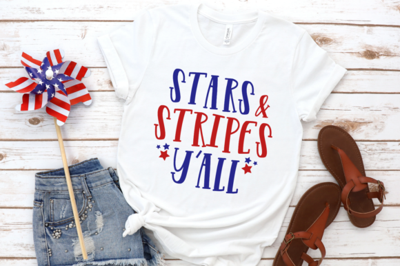 Download Free Stars And Stripes Y All Svg Grafico Por Morgan Day Designs for Cricut Explore, Silhouette and other cutting machines.
