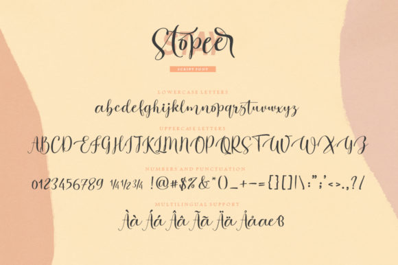 Stay Stopeer Duo Font Popular Design