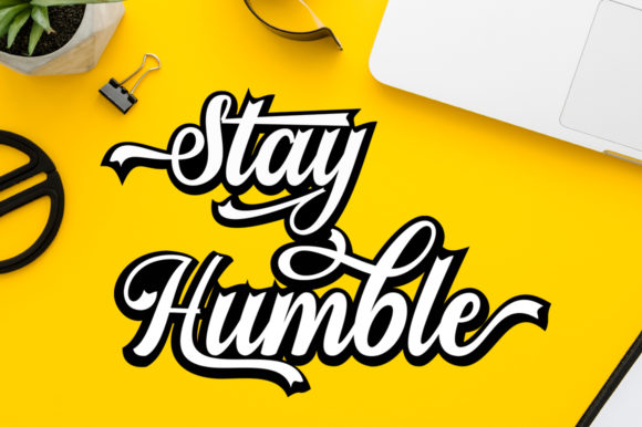 Print on Demand: Stayhill Script & Handwritten Font By letterfreshstudio - Image 2