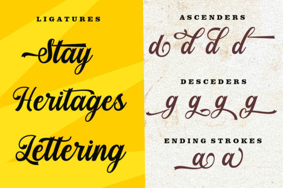 Print on Demand: Stayhill Script & Handwritten Font By letterfreshstudio - Image 4