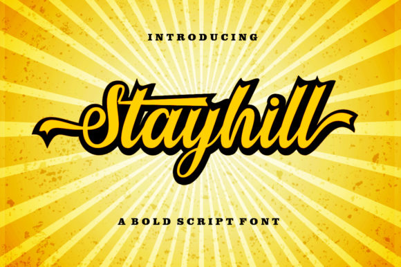 Print on Demand: Stayhill Script & Handwritten Font By letterfreshstudio - Image 8