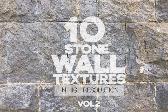 Stone Wall Textures Vol 2 X10 Graphic Textures By SmartDesigns