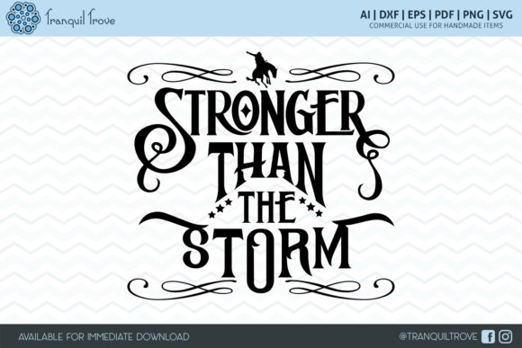 Print on Demand: Stronger Than the Storm Graphic Crafts By Lori Peters