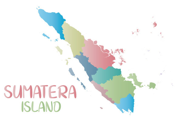 Download Free Indonesia Map In Red Graphic By Babeh Creative Fabrica for Cricut Explore, Silhouette and other cutting machines.