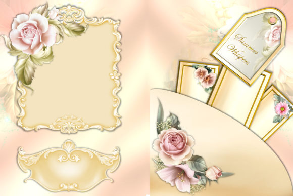 Print on Demand: Summer Backgrounds Papers and Clipart Graphic Crafts By The Paper Princess - Image 2