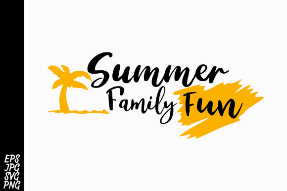Download Free Summer Family Fun Svg Graphic By Arsa Adjie Creative Fabrica for Cricut Explore, Silhouette and other cutting machines.