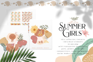 Summer Jungle Girls Graphic By BilberryCreate