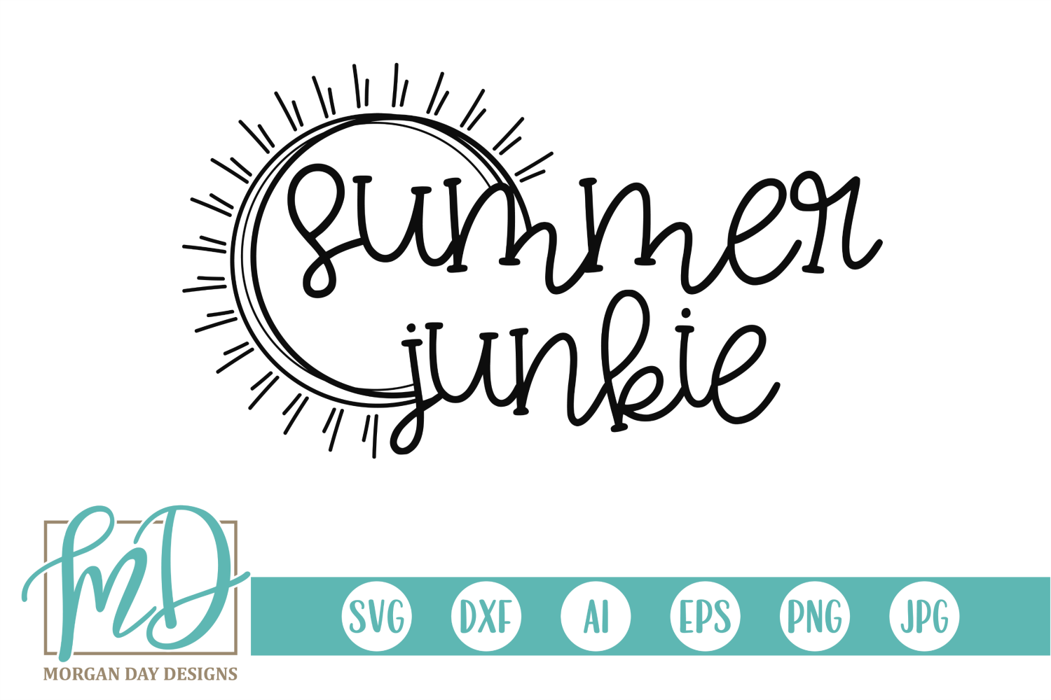 Download Free Summer Junkie Svg Grafico Por Morgan Day Designs Creative Fabrica for Cricut Explore, Silhouette and other cutting machines.