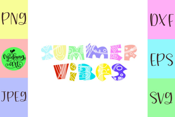 Summer Vibes Svg, Summer Svg Graphic Objects By MidmagArt - Image 2